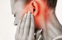 Rotlicht bei Ohrenschmerzen