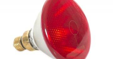 Rotlichtlampe richtig anwenden